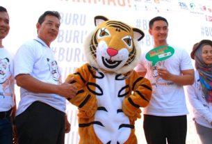 Kampanye pelestarian harimau, Gubernur Jambi, H Zumi Zola khawatir dan prihatin dengan pemburuan harimau. Bilangnya, jangan sampai nanti, harimau hanya menjadi cerita.