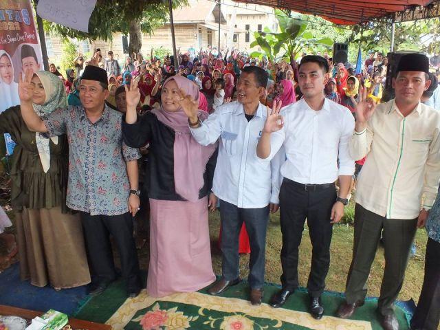 Politisi senior Bumi Sailun Salimbai, Fahmi Mai mengambarkan Zulfikar Ahmad bukan dari Dinas PU, Tapi bangun bandara di Bungo