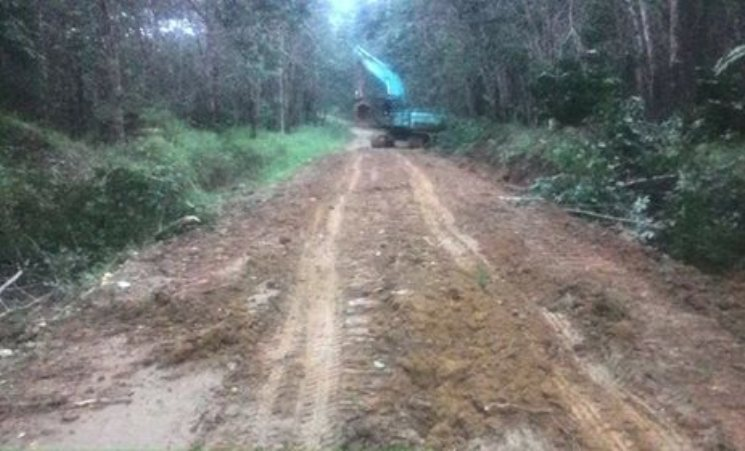 Jalan Desa Di Merangin Ini Puluhan Tahun Tak Tersentuh Aspal