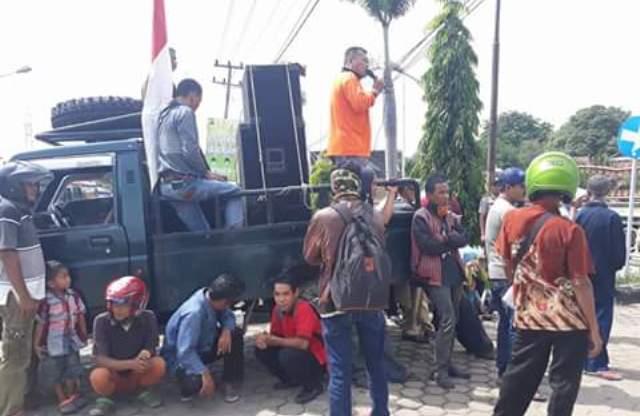 Korlap Aksi Demo Warga Bungku pada Selasa (23/1) lalu, belum terima surat tembusan kasus pemalsuan tanda tangan Bupati dari DPRD Batanghari.