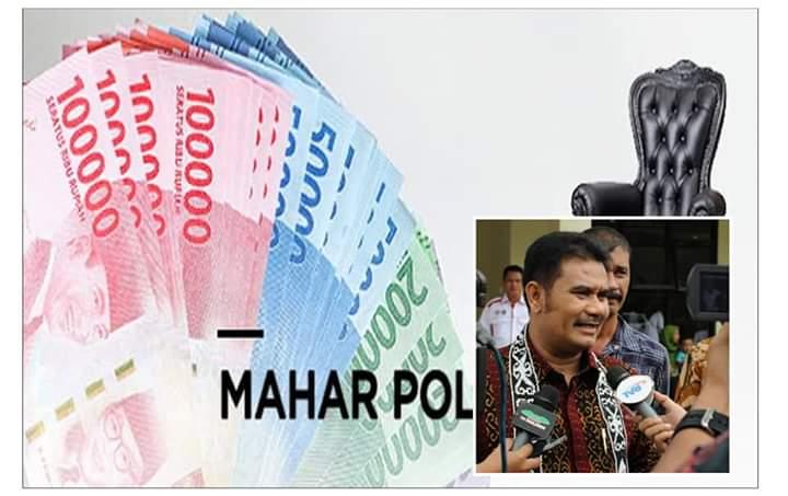 Kasus mahar politik di Pilbup Kerinci 2018 mencuat. Namun, uang senilai Rp 2,5 Milyar yang terus digali Polda Jambi, dibantah Sutan Adil Hendra, Jumat (18/01/2019) usai memenuhi panggilan Bawaslu Provinsi.