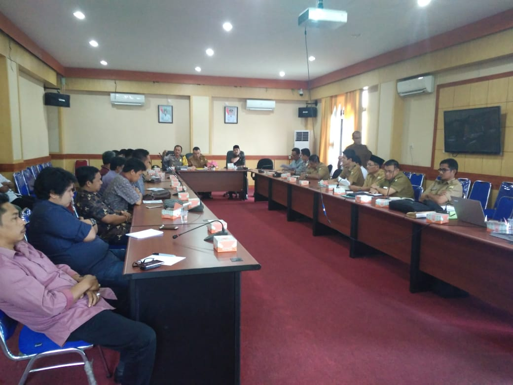 Pemkab Muaro Jambi Gelar Rapat Konflik Lahan Warga dan PT BBS