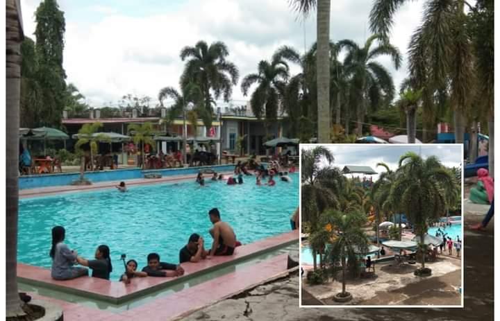 Kolam Renang yang terletak di Kecamatan Pamenang, Kabupaten Merangin ini menjadi tempat warga menghabiskan akhir pekan dan liburan