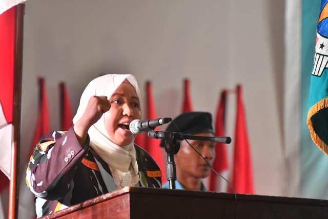 Bupati mengapresiasi pergerakan IPK, dan berharap dapat bersinergi dengan Pemkab Muaro Jambi. Foto ; Usman Muhammad