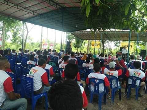 Ratusan Relawan Petani Jambi, Targetkan Suara Jokowi 70 Persen