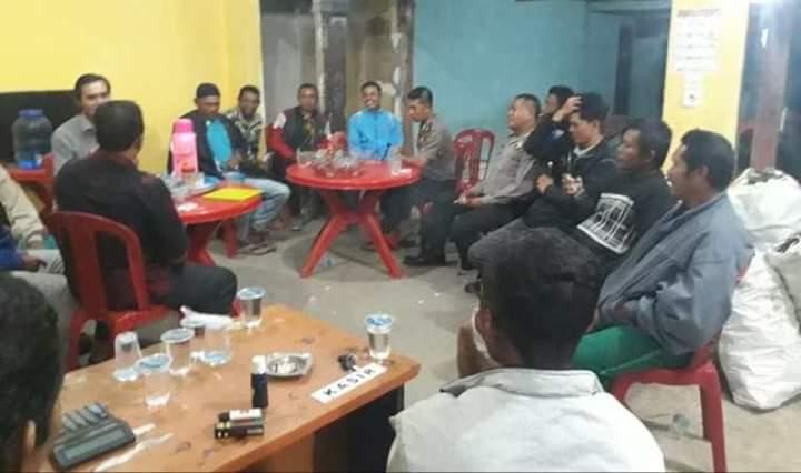 Peristiwa melibatkan pemuda Desa Baru Pulau Sangkar dengan Pemuda Tarutung, Kecamatan Batang Merangin dipicu game online, Minggu (31/03/2019).