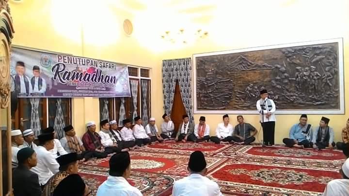 Wabup Ami Taher Secara Resmi Menutup Safari Ramadhan 1440 H