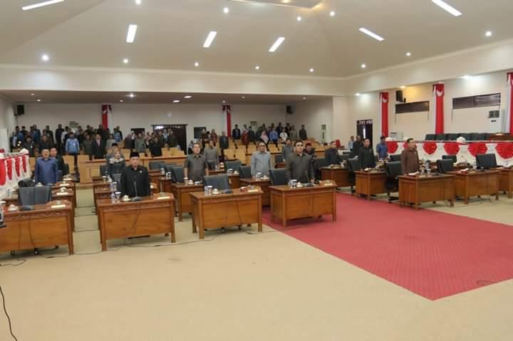 Sekretariat Dewan DPRD Tanjab Barat alamat Jalan Prof Sri Soedewi, Kuala Tungkal, Kabupaten Tanjab Barat