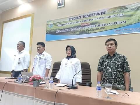 Pertemuan Komisi Penyuluh di Jambi