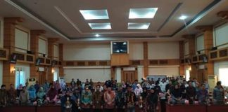 Seminar anti korupsi dihadiri 150 peserta.