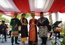 Tim kesenian jambi yang tampil di Istana negara, Jakarta, Sabtu (17/08/2019) pada saat peringatan HUT Ke 74 RI