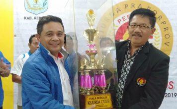 Ketua KONI Kota Jambi, Budi Setiawan optimis mempertahankan gelar juara di Kejurda Catur yang digelar di Kerinci, Kamis (22/08/2019).