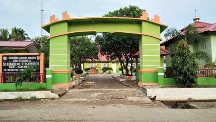 SD 100/VI Pamenang, Kabupaten Merangin dipilih orang tua lantaran memiliki prestasi dan disiplin yang baik