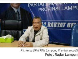 DPW PAN Lampung, Senin (19/08/2019) memutuskan untuk mencopot 5 Ketua DPD. Hal ini buntut pengelolaan uang saksi. Foto : Radar Lampung