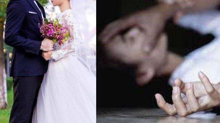 Malam pertama penganten diperkosa.