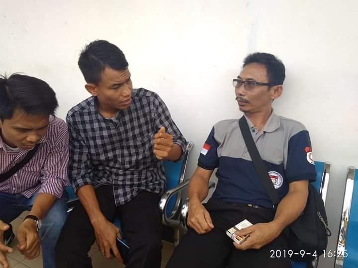Ketua LPKNI Jambi, Kurniadi Hidayat, Rabu (04/09/2019) sore saat dijumpai awak media, Foto ; Dinamika Jambi.com