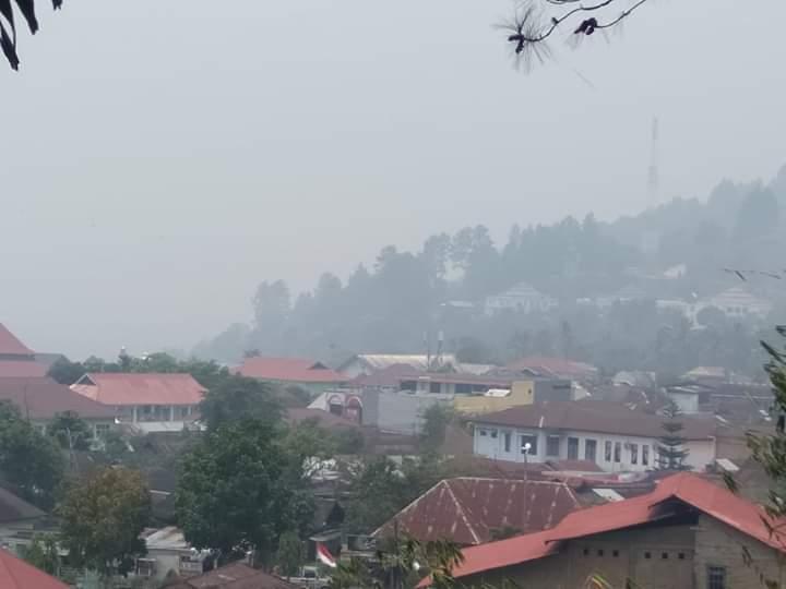 Akibat Kabut Asap, sejumlah sekolah di Kerinci diliburkan, Selasa (17/09/2019)