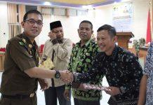 Rapat Kerja PPID 2019 Berlangsung Sukses. Kamis (19/09/2019) bertempat di Ruang Pola Kantor Bupati Batanghari.