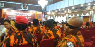 Pelantikan MPW Pemuda Pancasila Provinsi Jambi, Sabtu (14/09/2019) di Rumah Dinas Gubernur Jambi dihadiri jajaran PP dari berbagai daerah seperti MPC Muaro Jambi dan Kota Jambi.