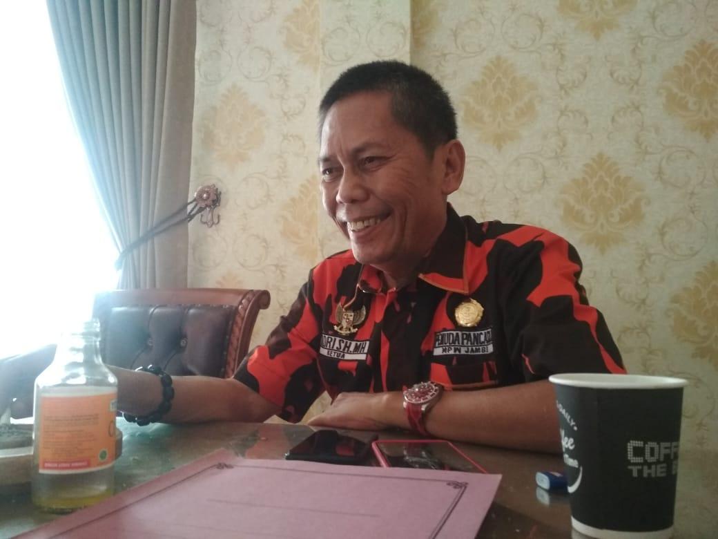 Ketua MPW Pemuda Pancasila, Adri