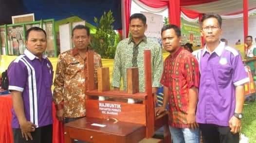 Pos Pelayanan Teknologi (Posyantek) Permata Kecamatan Bajubang Kabupaten Batang Hari dengan karya Majmuntik. Produk ini, akan ditampilkan di Kementrian Desa