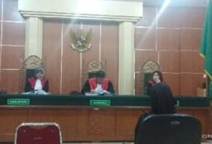 Investasi Bodong, Wanita di Singkut di Vons 1 tahun penjara.