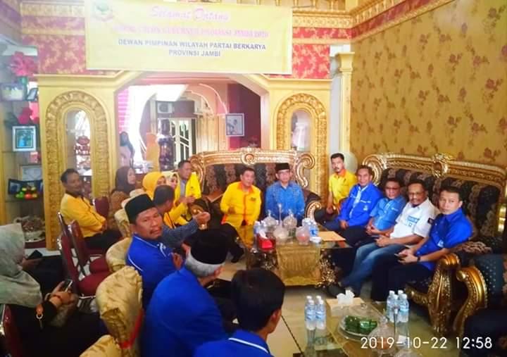 H Bakri dan tim sambangi Partai Berkarya.