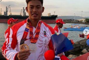 Abdur Rahim Atlit Jambi Rebut Medali Emas di SEA Games