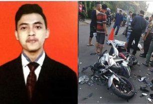 Nurul Faqih (22) meninggal dunia akibat kecelakaan. Mirisnya, Faqih tutup usia saat menuju kampus untuk wisuda. Kecelakaan lalu lintas yang dialami almarhum Faqih, terjadi pada pukul 05.00 WIB, Minggu (1/12/2019) di Jalan Taruma Negara 45, tepatnya di depan kantor Ben's Radio, Ciputat, Tangerang Selatan