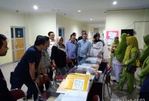 Komisi IV DPRD Provinsi Jambi, menggelar sidak di Rumah Sakit Umum Daerah (RSUD) Raden Mattaher Jambi,