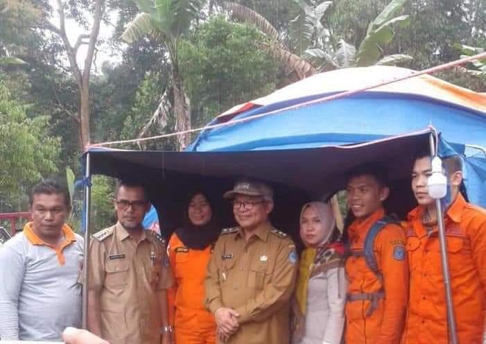 Wabub Kerinci Ami Taher Turun Kelokasi Danau Kaco