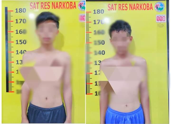 Terciduk Bawa Narkotika Jenis Ganja, 2 Pemuda Ini Diamankan Polres Kerinci