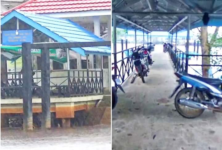 Di Bangun BPTD Propinsi Jambi, Halte Di Tanjabbar Terkesan Mubazir