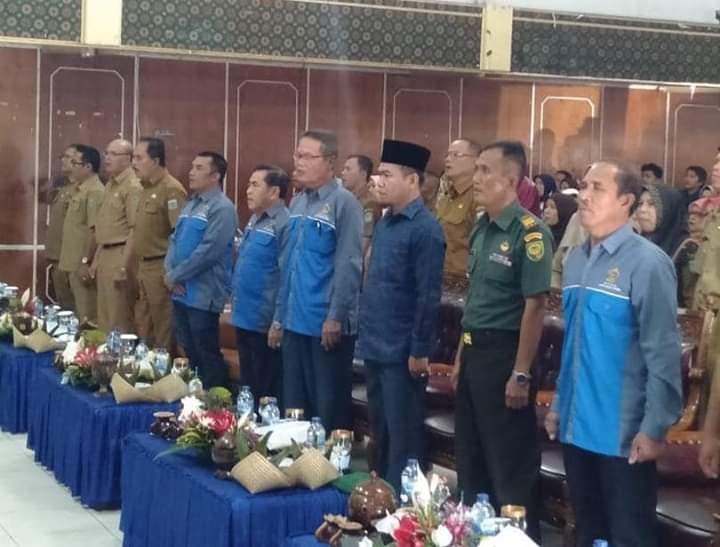 Ketua DPRD, Fajran Hadiri Pelantikan Pengurus KTNA Kota Sungai Penuh