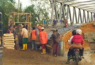 Proyek PU Provinsi Tak Terurus, Jembatan 16 Milyar Di Tanjabbar Terbuang Sia-sia