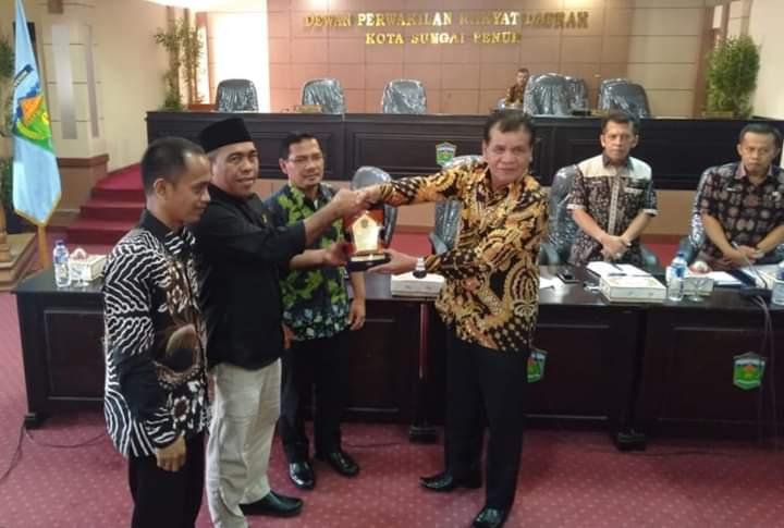 DPRD Kota Sungai Penuh Kedatagan Komisi III DPRD Dharmasraya