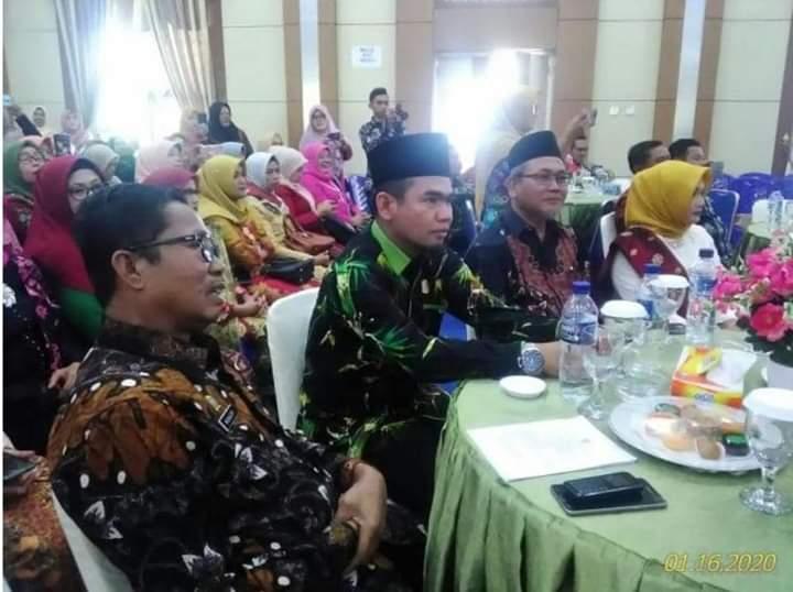 Ketua DPRD Kota Sungai Penuh H.Fajran Hadiri HUT Darma Wanita