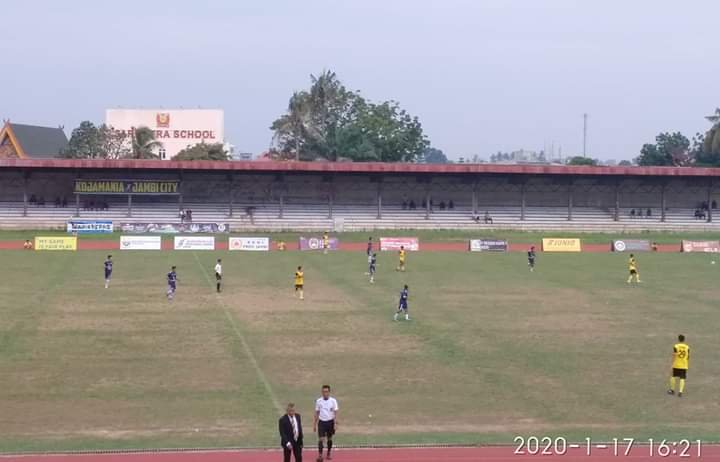 Pecundangi Muaro Jambi 3-1, Merangin Pastikan Raih Juara Grup B
