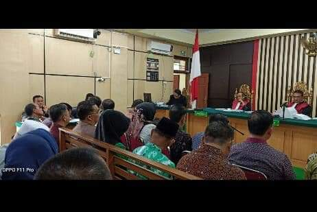 Rahima dan 22 Saksi Lainnya Kembali Dihadirkan di Sidang Ketok Palu