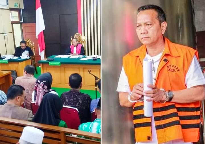 Zainal Abidin dan Efendi Hatta Miris Liat Rekannya Tak Mengaku di Pengadilan