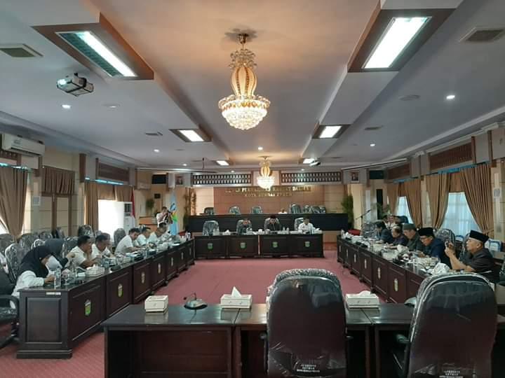 Rapat Badan Musyawarah DPRD Sungai Penuh