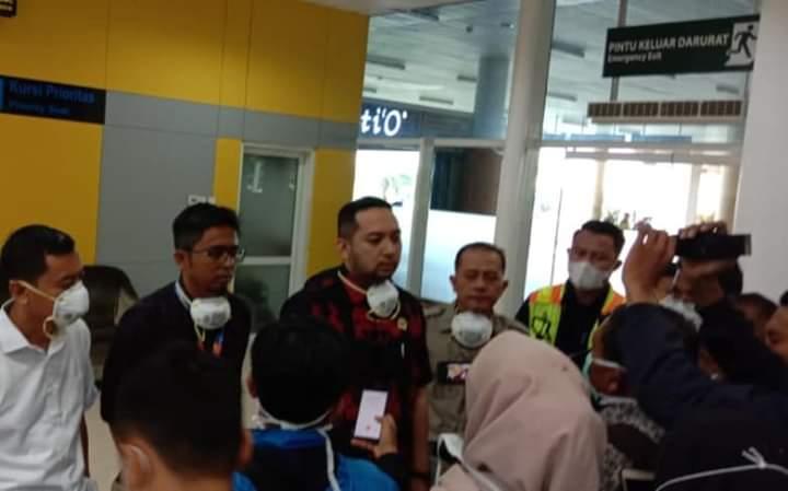 Virus Corona Marak di Jambi, Dewan Sidak ke Bandara