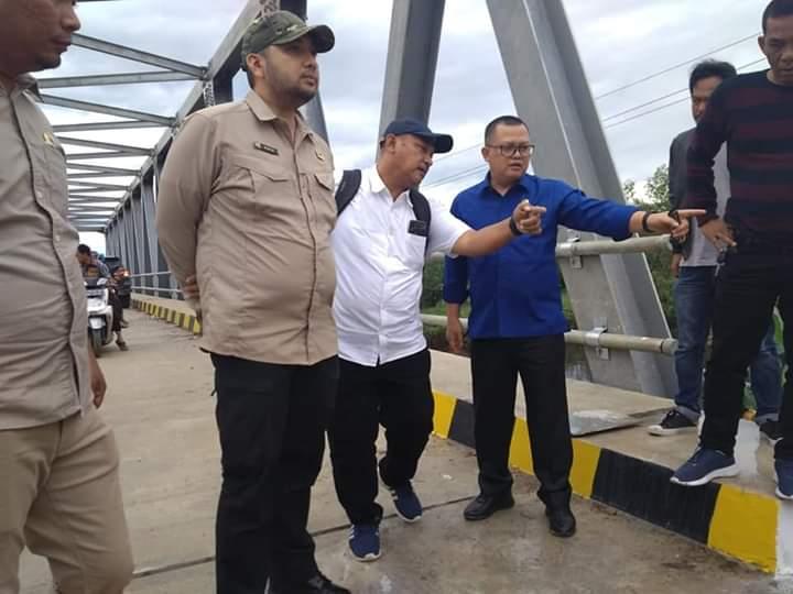 Cek Jembatan 16 M, Dewan Minta Yang Rusak Segera Diperbaiki