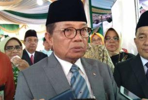 Fachrori menghadiri HUT 57 Bank Jambi, Rabu (08/01/2020)