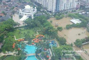 Banjir Jakarta Awal 2020. Korban Banjir, Guru Ngaji Tewas