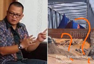 Cek Jembatan 16 M, Rabu Ini Komisi III Akan ke Lokasi