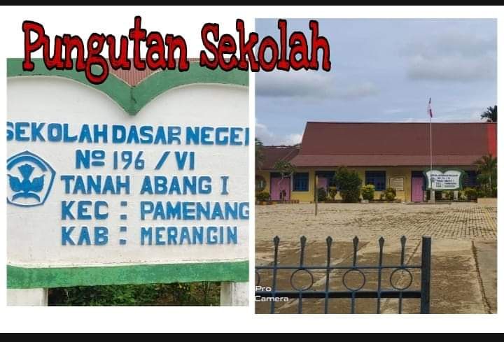 Pungutan di sekolah dasar di Pamenang mencuat. Biaya di SDN 196/VI Tanah Abang disoal