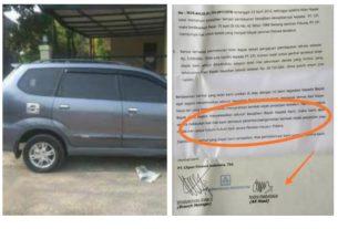Denda puluhan juta, leasing ini kembali bikin kening berkerut. Clipan Finance dalam suratnya menuliskan bisa tarik mobil meski sudah lunas?