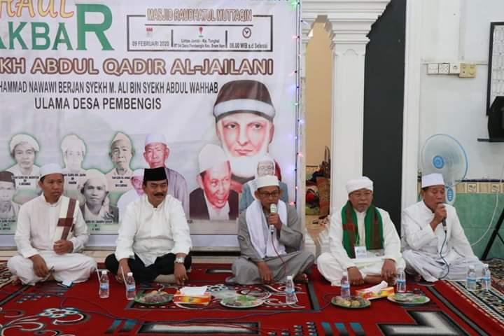 Wabup Hadiri Peringatan Haul Syekh Abdul Qadir Al-Jaelani