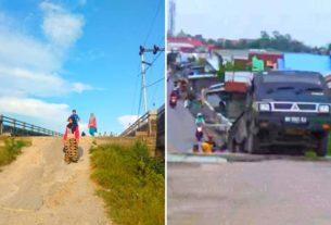 Sering Makan Korban, Oprit Jembatan di Tanjabbar Membahayakan